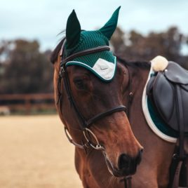 Equestrian Stockholm Amazonite Ear Bonnet