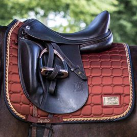 Equito Rusty Rose Gold Dressage Saddle Pad