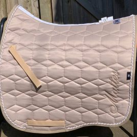 Mattes Walnut Eurofit Spring Collection Saddle Pad