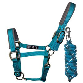 Woof Wear Contoured Head Collar & Lead Rope