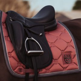 Equestrian Stockholm Rose Breeze Dressage Saddle Pad