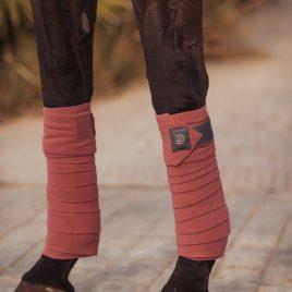 Equestrian Stockholm Rose Breeze Fleece Bandages