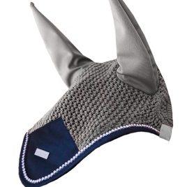 Equestrian Stockholm Grey Crystal Ear Net