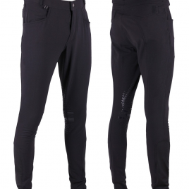 QHP Luke Men's Breeches with silicone knee patches