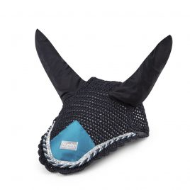 Equito Black and Teal Bonnet
