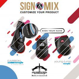 Veredus Carbon Gel Vento Front Sign & Mix Boots