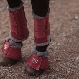 Equestrian Stockholm A/W'20 Winter Rose Brushing Boots