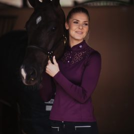 Equestrian Stockholm A/W'20 Purple Champion Top
