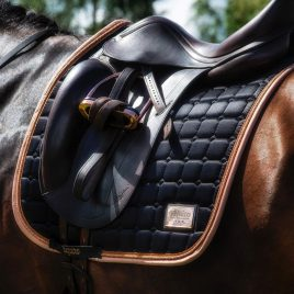 Equito Black Peach Saddle Pad