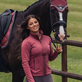 Equestrian Stockholm A/W'20 Winter Rose Ear Net