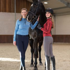 QHP Ize Silicone Seat Breeches