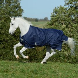 Bucas Freedom Lightweight Turnout Rug Navy
