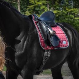 Equito Black Cherry Saddle Pad