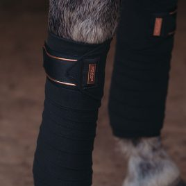 Equestrian Stockholm Dark Sky Fleece Bandages