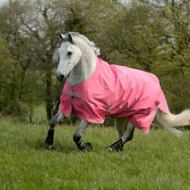 Bucas Freedom Lightweight Turnout Rug Hot Pink