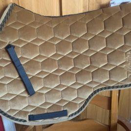 Mattes Autumn Collection Saddle Pad Jump Eurofit Velvet Sand