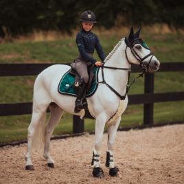 Equestrian Stockholm Jump/GP Emerald Saddle Pad
