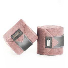 Equestrian Stockholm Pink Fleece Bandages