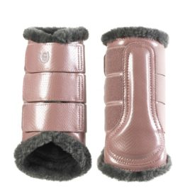 Equestrian Stockholm Pink Brushing Boots