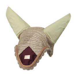 Equito Champagne Plum Ear Bonnet