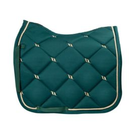 Back on Track Night Collection Forest Green Saddle Pad