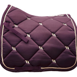 Back on Track Night Collection Ruby Saddle Pad