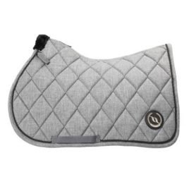 Back on Track Haze Collection Grey Saddle Pad