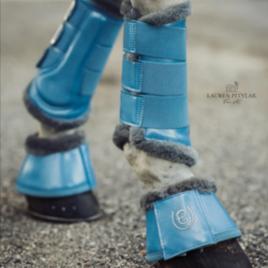 Equestrian Stockholm Parisian Blue Brushing Boots