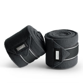 Equestrian Stockholm Silver Cloud Fleece Bandages