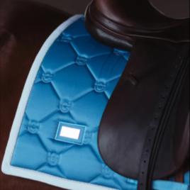 Equestrian Stockholm Parisian Blue Dressage Saddle Pad