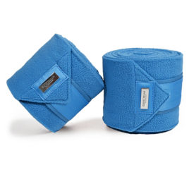 Equestrian Stockholm Parisian Blue Fleece Bandages