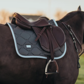 Equestrian Stockholm  Silver Cloud Jump Saddle Pad