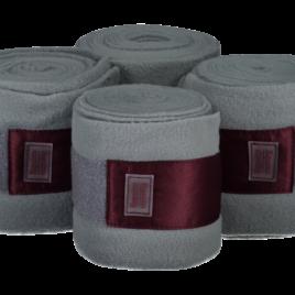 Equito Platinum Grey Fleece Bandages
