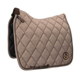 Back on Track Haze Collection Brown Saddle Pad
