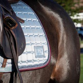 Equito Platinum Grey Saddle Pad