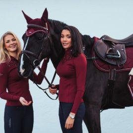 Equestrian Stockholm Bordeaux Champion Top