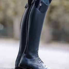 Cavallo Linus Jump Patent and Suede Riding Boots
