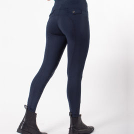 QHP Riding Tights with Silicone Leg Grip