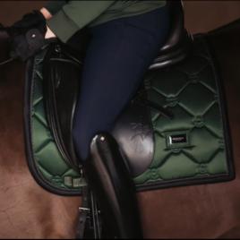 Equestrian Stockholm Deep Olivine Dressage Saddle Pad