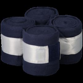 Equito Navy Shimmer Fleece Bandages