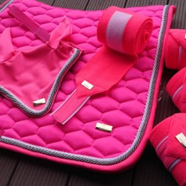 Horss Neon Pink Ear Net