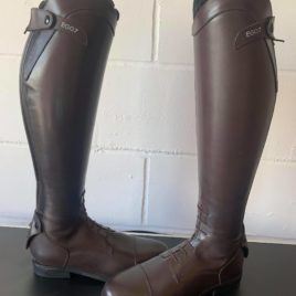 Ego 7 Orion Tall Riding Boots Brown UK 7