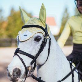 Equestrian Stockholm Soft Lemon Ear Net