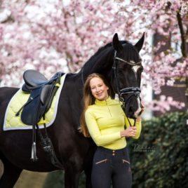 Equestrian Stockholm Soft Lemon Vision Top