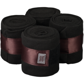Equito Black Bronze Fleece Bandages
