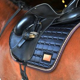 Equito Black Bronze Saddle Pad