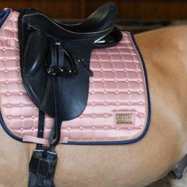 Equito Peony Pink Saddle Pad