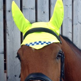 Equisafety Polite Reflective Ear Bonnet