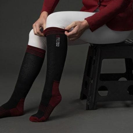 Riding socks AmbitionFirst – Black – 1