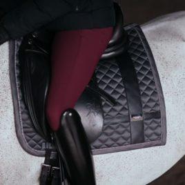 Equestrian Stockholm No Boundaries Silver Cloud Dressage Saddle Pad